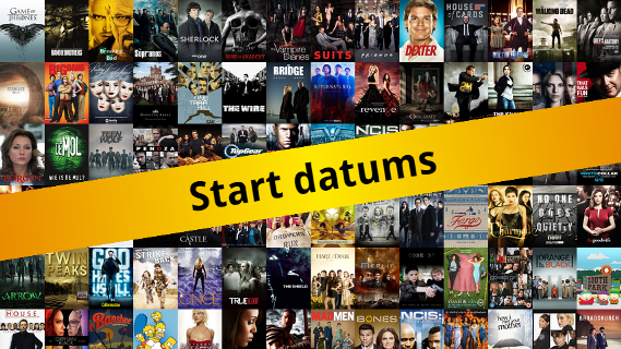 Start- en premièredatums van december 2016